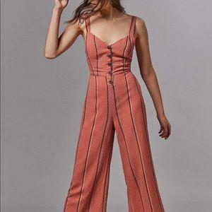 urban tie back jumpsuit (linen)